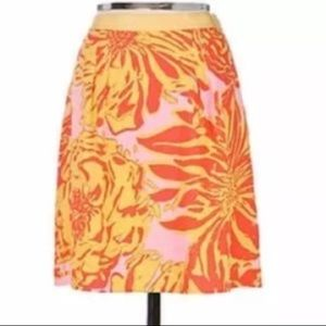edme & esyllte ANTHROPOLOGIE linen skirt 6 (A9)